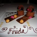 Desert at Frida, our favourite restaurant, Mexican Fine Dining