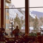 Live music in lobby