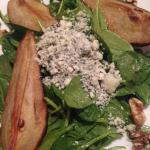 Organic Baby Spinach & Caramelized Pear Salad