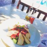 Chicken salad @ pool bar