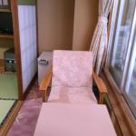 The little seating area in our tatami room
