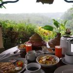 Breakfast with a view, Villa Made