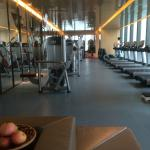 the gym at 75th floor