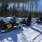 Snow Mobile Weekend at the Loon Lodge