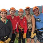 Overcoming fears, spectacular views!