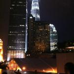View of KLCC from the poolside