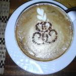 Cappuccino artistically prepared by Mohammed :-)