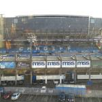 View from hotel across to the Arms Park