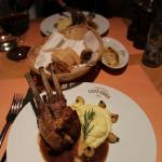 This  Lamb chop was a masterpiece!