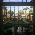 View from Lobby of Quinn's Pool