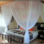 Chalet Interior - Canopy bed