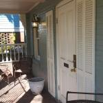 Another view of the porch outside our room!