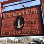 Sign for the Candlelight Inn B&B in North Wildwood by Dr. Jim B
