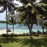 A view from the room - small & quiet beach so close to us