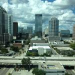 View of downtown Tampa from the upper floors!