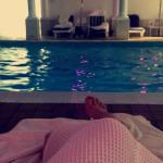 Quick visit to the spa ��������