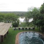 Swimming pool overlooking Crocodile River