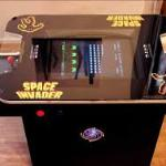 our new space invaders table top