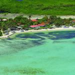 arial view sorobon beach resort