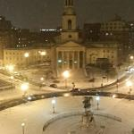The view from Room 1009 of Thomas Circle.