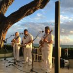 Hawaiian band at Halekulani
