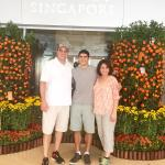 Great times at the Fairmont Singapore