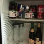 Mini bar no Fridge as promised
