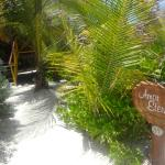 Entrance to our bungalow