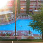 View of pool from our room entrance
