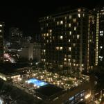 Night time view from our suite