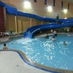 Waterslide/Pool Area