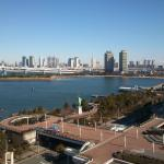 downtown tokyo across the bay
