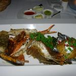Mixed seafood at Talay (520 baht)