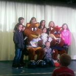 On stage with Foxy!