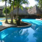 Lodge at Uxmal pool