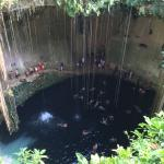 sink hole swimming a must