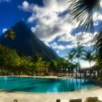 PItons view from the pool