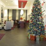 New Year tree in the lobby area