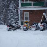 Direct Snowmobile trail access, park right outside your room!
