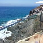 View from the cliff bar