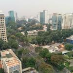 View from a room of Saigon
