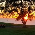 Sunset over Torrey Pines South Course