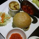Room service - Salsa cheese burger set