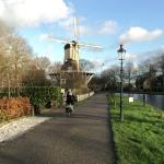 Canal next to property, This is the way to walk to Medieval Village of Weesp.