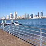 San Diego skyline from north end of Coronado Island