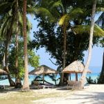 Private beach of the resort