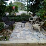 new patio of Cottage1