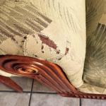 worn out furniture