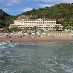 lti Louis Grand Hotel - picture taken from the sea