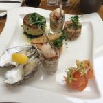 Seafood sharing platter - delicious!